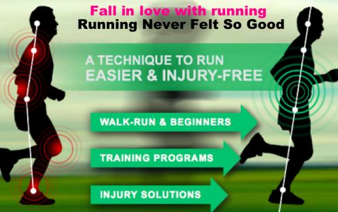 Make off road running easy with Chi Running