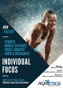 RunEtics - Sprints and Distance Coach