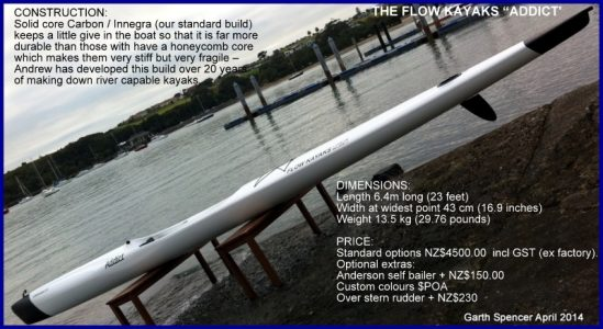 Surfski FLOW 'Addict' For Sale