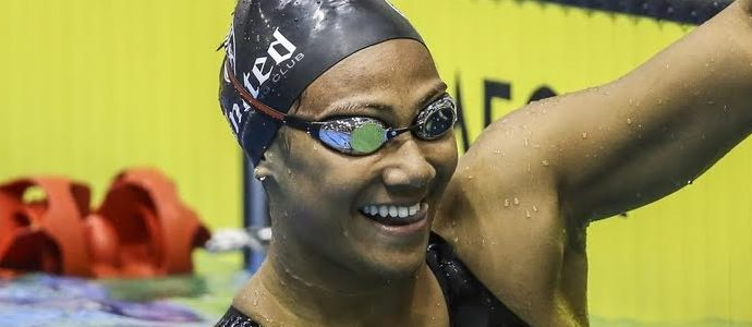 Fa'amausili bags double records at New Zealand Age Swimming