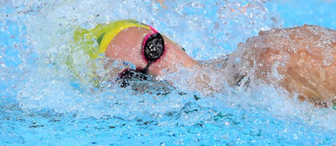 McKeon off to a flying start at FINA World Championship