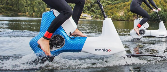 Innovative hydrofoil bike revealed