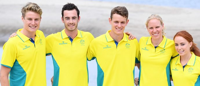 New look triathlon team unveiled for 2018 Commonwealth Games