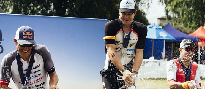 Currie finishes second at Taupo 70.3 after bike mechanical