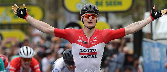 Tour Down Under final stage - Andre Greipel wins