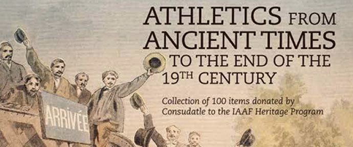 'Athletics - 3000 years and counting'