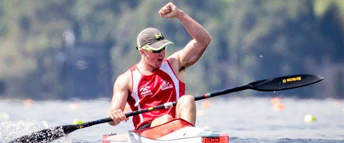 Pedigree and power gives Thompson kayaking gold