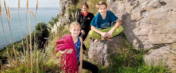 Climbers boost record AIMS Games entries