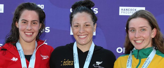 Pan Pacific Para Swimming Championships Pascoe another gold!