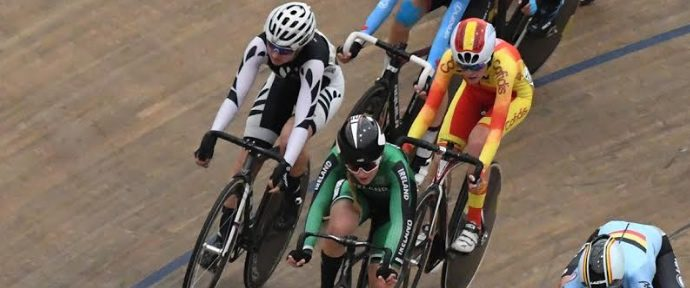 Strong edged out of podium place in omnium decider