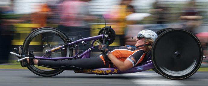 ASB Auckland Marathon Wheelchair Race