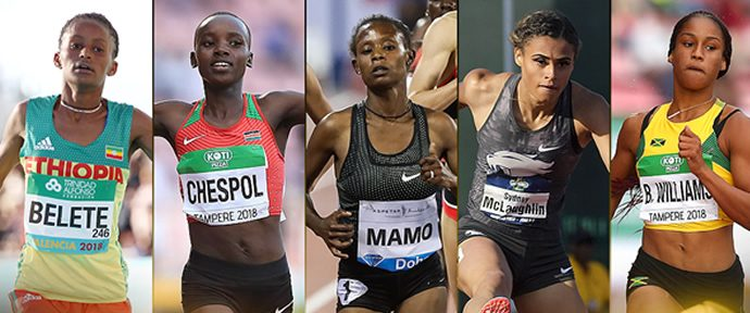 IAAF Female Rising Star Award