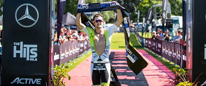Ironman 70.3 Taupo - Phillips & Khalefeldt win