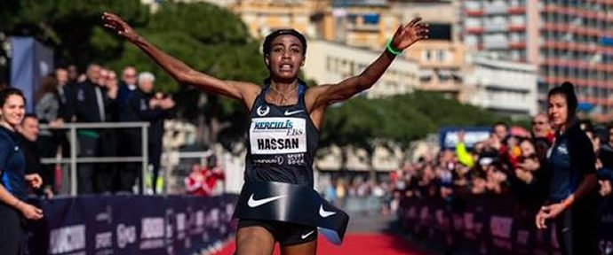 Wanders & Hassan set World 5km Records in Monaco