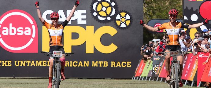 Absa Cape Epic - Italians Solo to Victory