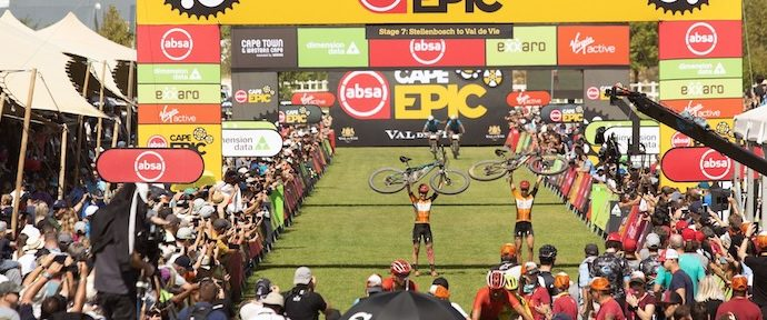 Absa Cape Epic - Scott-SRAM MTB-Racing Cruise to Overall Honours