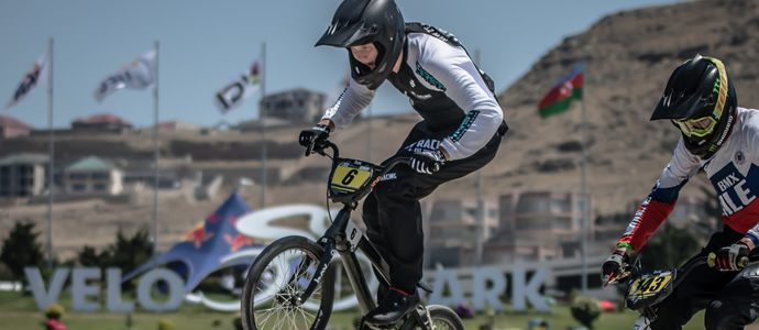 Exhilarating racing from talented young BMX riders marks final day