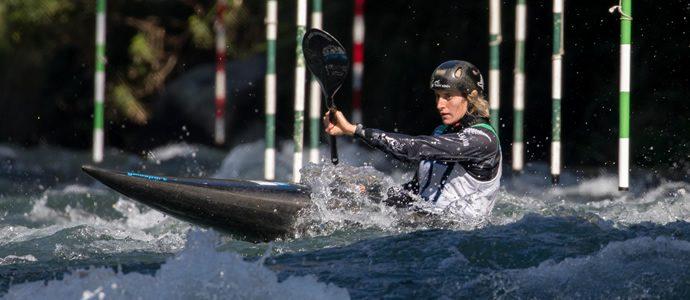 Jubilant Jones claims canoe slalom double