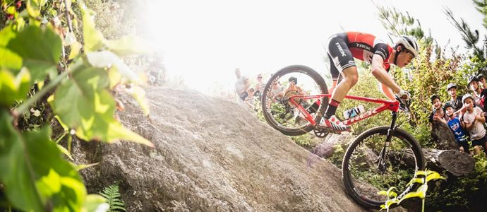 Cooper leads Kiwis in UCI world cup cross country MTB opener