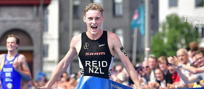 Podiums for New Zealand Triathletes in Antwerp World Cup