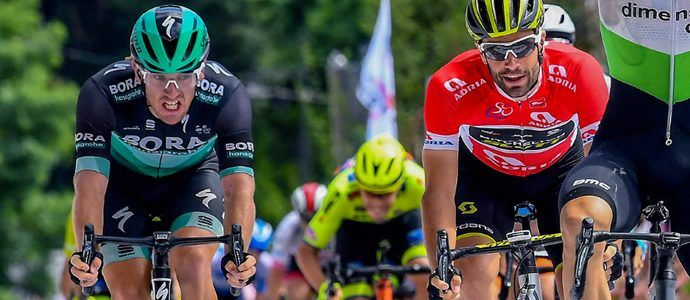 Podium for Shane Archbold closing stage of the Tour of Slovenia