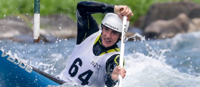 History for teenaged Kiwi canoeist