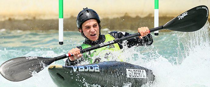 Raw speed not enough for kayaker Gilbert