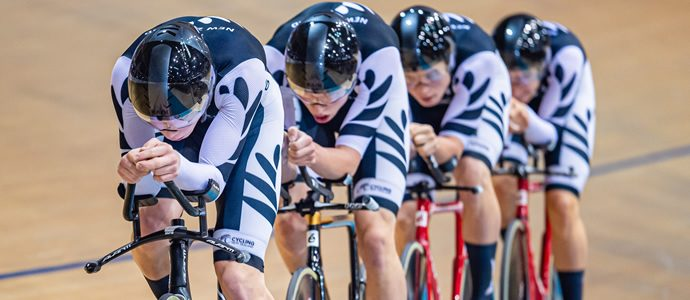 Few rewards for New Zealand junior cyclists in Germany