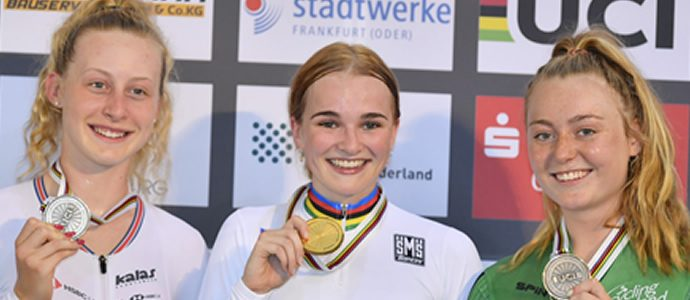 Two Rainbow Jerseys for Wollaston and Pithie in Germany