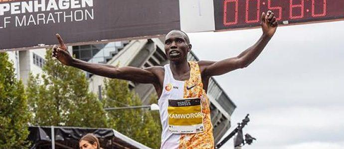 Kamworor Breaks World Half Marathon Record