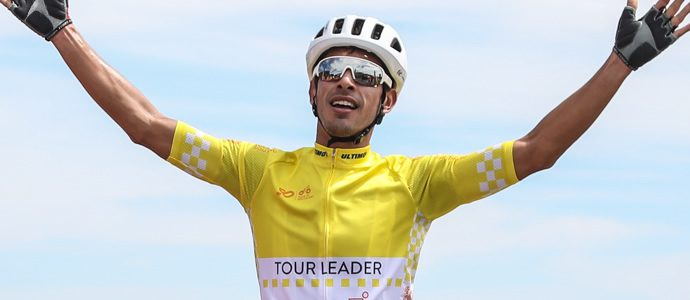 SBS Bank Tour of Southland - Another impressive climb by Mexican rider