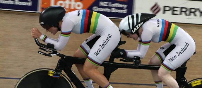 New world record for tandem Para cyclists Foy and van Kampen