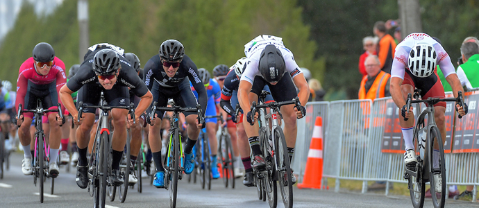 NZ Cycle Classic stg 2 - Stewart win stage - Plowright in yellow