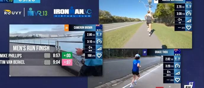 Kiwi's dominate Trans-Tasman IRONMAN VR Pro Challenge